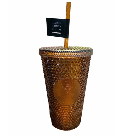 Starbucks 50th Anniversary Copper Studded Cup